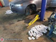 """В Литве задержан водитель Volvo, перевозивший гашиш """"для России"""" на 1 млн евро"""