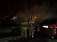 В Омске возле Дома культуры сожгли Lexus владельца ювелирного бизнеса