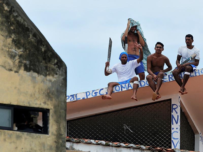 В результате тюремного бунта в бразильском штате Гояс в понедельник, 1 января, погибли девять заключенных, еще 14 пострадали