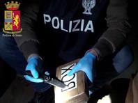В Генуе на борту судна с украинской командой найдены рекордные 300 кг кокаина