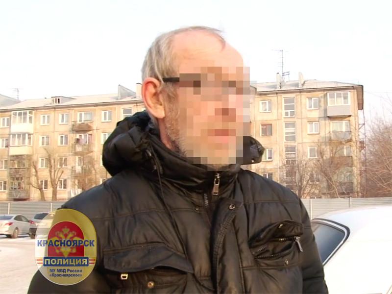 Полиция Красноярска задержала мужчину, которого подозревают в дерзком сексуальном преступлении