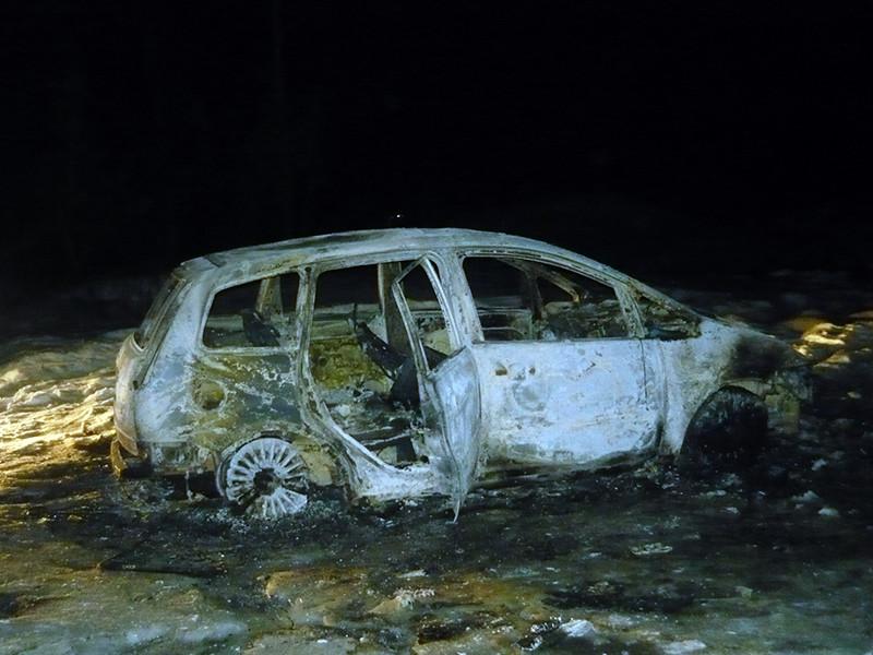 Полиция Нижнего Новгорода ищет убийц автомобилиста, обгоревший труп которого был найден в сожженном автомобиле