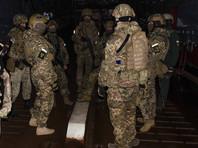 В Херсонской области Украины на территории военного объекта подрались моряки и местные жители