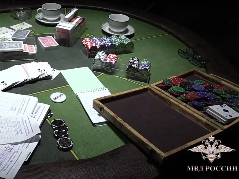 Полицейские Ростова-на-Дону ликвидировали подпольный клуб для карточных игр, который действовал под вывеской агентства, оказывающего ритуальные услуги
