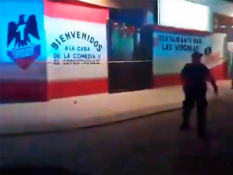 В баре на мексиканском курорте застрелены 7 человек