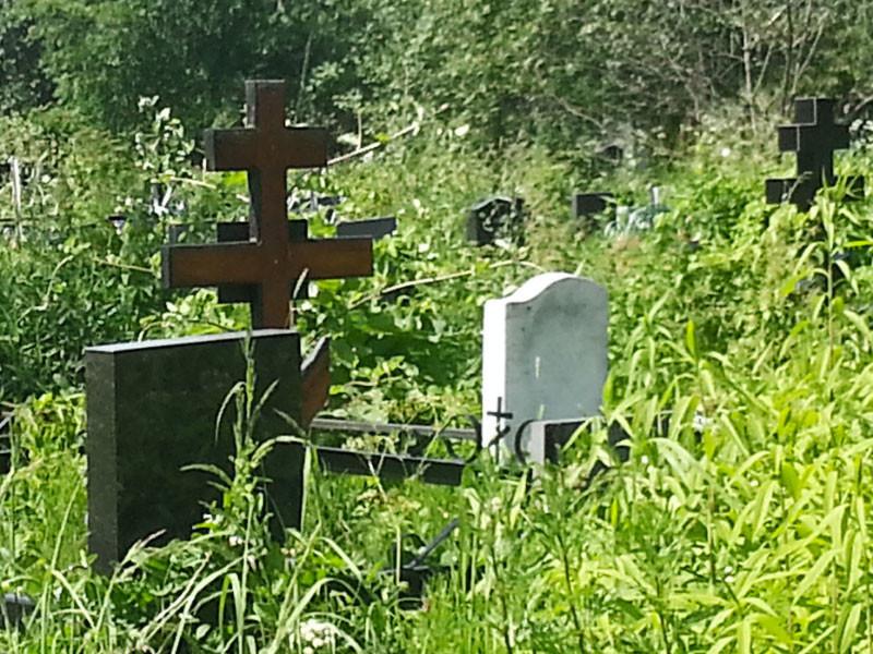В Астрахани должник спрятался от приставов в могиле и притворился мертвым