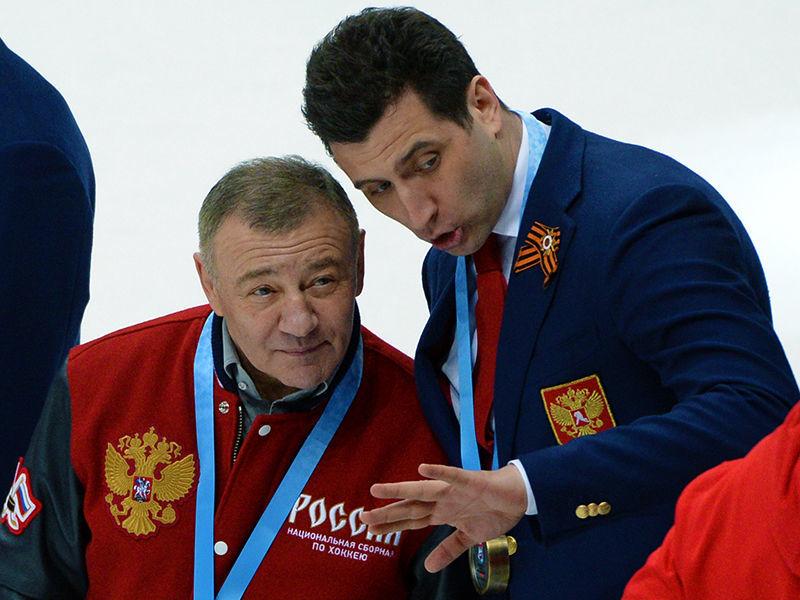 Российские миллиардеры Геннадий Тимченко, Аркадий и Роман Ротенберги получили бронзовые медали домашнего чемпионата мира по хоккею