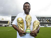 75-летний король футбола Пеле выставляет на аукцион все свои награды
