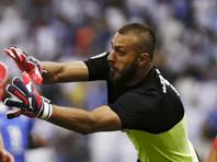 Вратаря сборной Ирана по футболу дисквалифицировали за рисунок на штанах