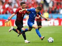 Хорватские футболисты победили Турцию в матче чемпионата Европы