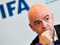 Инфантино признал, что приказал уничтожить копию протокола майского заседания совета ФИФА