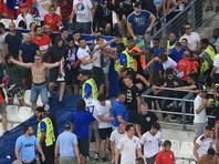 Разделение российских и английских болельщиков на стадионе в Марселе было плохо организовано