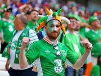 Болельщики Ирландии награждены медалью за образцовое поведение на Евро-2016