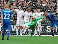 Футболисты Исландии и Венгрии сыграли вничью на Евро-2016