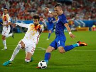 Евро-2016: Хорваты обыграли испанцев и вышли в плей-офф с первого места в группе