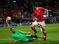 В матче с Уэльсом россияне не смогли сдержать Гарета Бэйла, использовавшего одну из нескольких голевых ситуаций