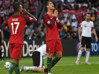 Португальцы не смогли обыграть австрийцев в рекордном матче Роналду