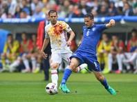 Итальянцы выбили с Евро-2016 действующих чемпионов континента