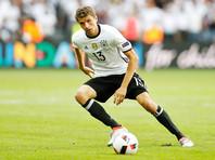 Евро-2016: Германия забила три безответных мяча в ворота Словакии