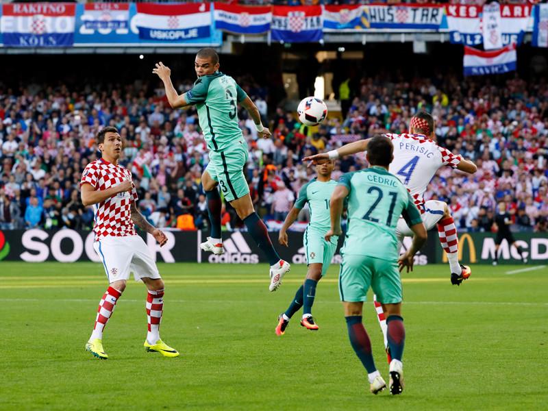Матч между сборными Хорватии и Португалии, 25 июня 2016 года