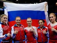 Сборная России по спортивной гимнастике заняла первое место в неофициальном медальном зачете на завершившемся в воскресенье в Берне женском чемпионате Европы. В активе россиянок 2 золотых, 1 серебряная и 2 бронзовых награды