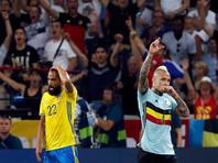 Шведы вылетели с чемпионата Европы в прощальном матче Ибрагимовича