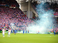 Прерванный хулиганами матч Евро-2016 обошелся хорватам в 100 тысяч евро