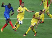 Французы обыграли румын в стартовом матче Евро-2016