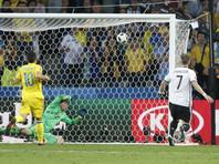 Сборная Германии победила команду Украины на Евро-2016
