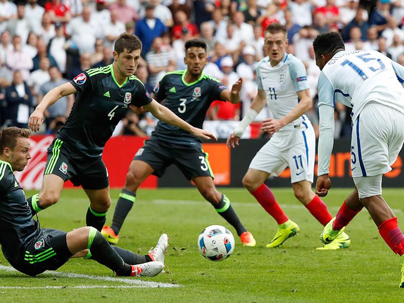 Англия победила Уэльс в британском дерби на Евро-2016