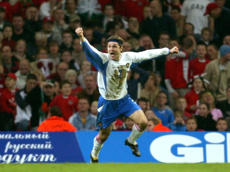 Вадим Евсеев является героем противостояния России и Уэльса в стыковых матчах за право участия в финальной стадии чемпионата Европы - 2004. В ноябре 2003 года он забил валлийцам единственный и победный мяч в Кардиффе
