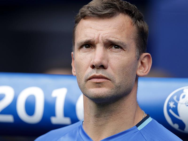 Федерация футбола Украины объявила о назначении Андрея Шевченко на пост главного тренера сборной