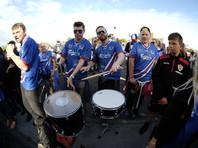 Исландских футболистов после вылета с Евро-2016 встретили как героев