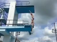 Под российским прыгуном в воду на Кубе обрушилась вышка