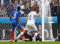 Евро-2016: Франция разгромила Исландию и вышла в полуфинал турнира
