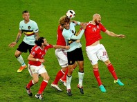 Уэльс не пустил Бельгию в полуфинал чемпионата Европы по футболу
