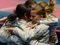 Российские саблистки одолели украинок в финале командного турнира в Рио