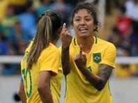 Бразильская футболистка стала лучшим бомбардиром в истории Олимпиад