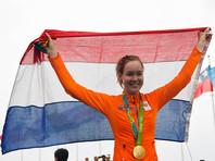 Голландка Анна ван дер Брегген выиграла групповую шоссейную велогонку в Рио