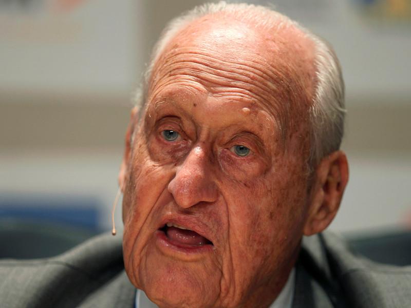 Бывший президент Международной федерации футбола (ФИФА) Жоао Авеланж скончался в возрасте 100 лет