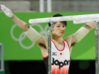 Японец Кохэй Утимура в Рио защитил титул в гимнастическом многоборье