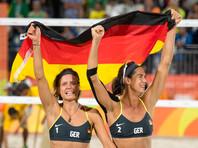 Немки добыли олимпийское золото Рио-2016 в пляжном волейболе