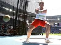 Полька Анита Влодарчик в Рио-де-Жанейро побила мировой рекорд в метании молота