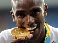Легкоатлет Мо Фара из Великобритании стал трехкратным олимпийским чемпионом