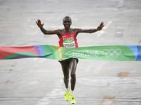 Кениец Кипчоге быстрее всех пробежал марафонскую дистанцию в Рио-де-Жанейро
