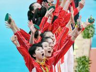 Китайские волейболистки в третий раз выиграли олимпийский турнир