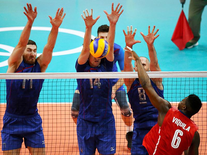 Волейболисты сборной России обыграли команду Кубы в своем стартовом матче олимпийского турнира, где они защищают добытый четыре года назад в Лондоне чемпионский титул