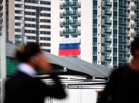 В Олимпийской деревне неизвестные сорвали флаги России