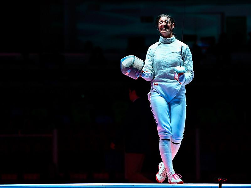 Яна Григорян, в чемпионский день лишившаяся кошелька, думает, что это будет хорошей приметой