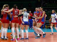 Российские волейболистки одержали вторую победу в Рио-де-Жанейро